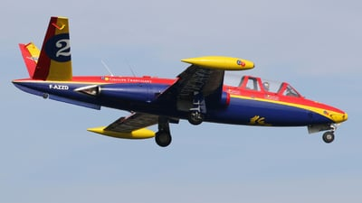 F-AZZD - Fouga CM-170 Magister - Private