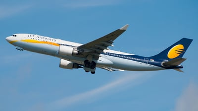 VT-JWJ - Airbus A330-202 - Jet Airways