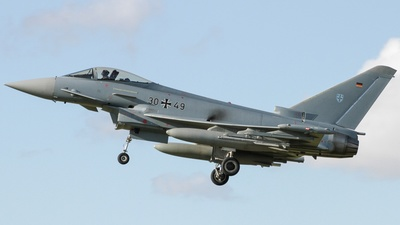 30-49 - Eurofighter Typhoon EF2000 - Germany - Air Force