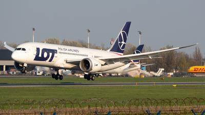 A picture of SPLRB - Boeing 7878 Dreamliner - LOT - © Jakub Szewczuk