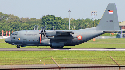 A-1334 - Lockheed C-130H Hercules - Indonesia - Air Force
