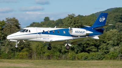 N504UP - Cessna 560XL Citation Excel - Wheels Up