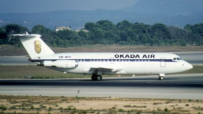 5N-AYV - British Aircraft Corporation BAC 1-11 Series 408EF - Okada Air