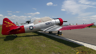 N888WV - North American T-6G Texan - Private