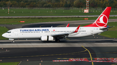 TC-JFM - Boeing 737-8F2 - Turkish Airlines