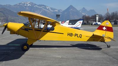 A picture of HBPLQ - Piper PA18150 Super Cub - [1809112] - © Mirko Bleuer