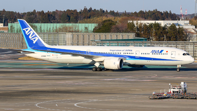 JA890A - Boeing 787-9 Dreamliner - All Nippon Airways (Air Japan)