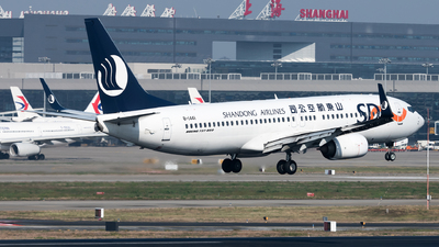 A picture of B1441 - Boeing 73785N - Shandong Airlines - © Lazy Clutch