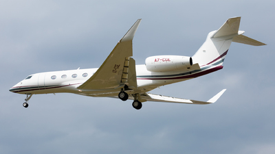 A7-CGE - Gulfstream G650ER - Qatar Executive
