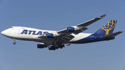 A picture of N489MC - Boeing 747412F - Atlas Air - © CN-ZSHC