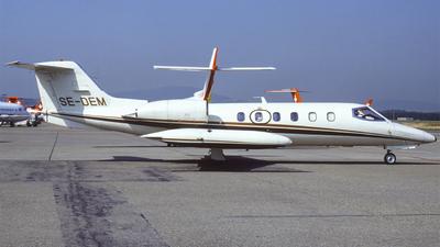 SE-DEM - Gates Learjet 35A - Private
