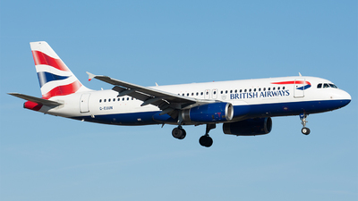 G-EUUN - Airbus A320-232 - British Airways
