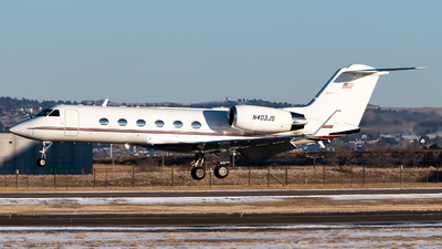 N403JS - Gulfstream G-IV - Private