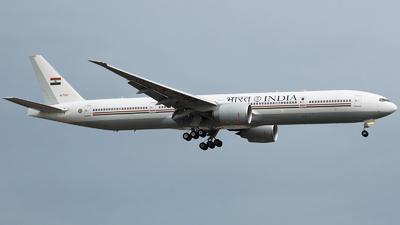 K7067 - Boeing 777-337ER - India - Government