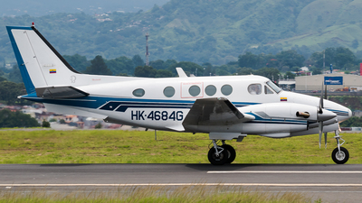 HK-4684G - Beechcraft C90 King Air - Private