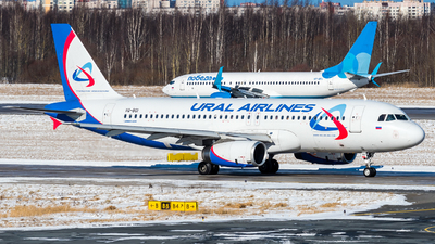 A picture of VQBGI - Airbus A320232 - Ural Airlines - © Alexander Lebedev