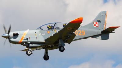 029 - PZL-Okecie PZL-130TC-2 Turbo Orlik  - Poland - Air Force