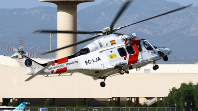A picture of ECLJA - AgustaWestland AW139 - [31318] - © Javier Rodriguez - Amics de Son Sant Joan