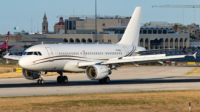 T7-ACJ - Airbus A319-115(CJ) - Comlux Aviation Malta