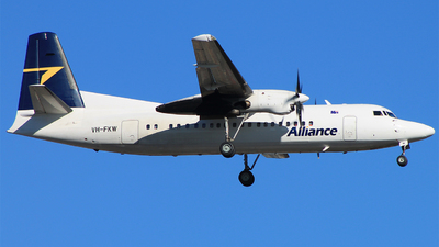 VH-FKW - Fokker 50 - Alliance Airlines