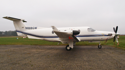 N888GW - Pilatus PC-12/45 - Private