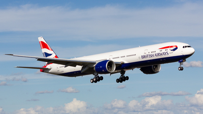 G-STBM - Boeing 777-336ER - British Airways