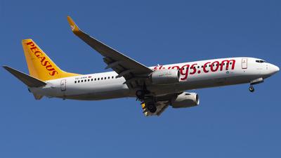 A picture of TCCRA - Boeing 7378H6 - Pegasus Airlines - © Furkan Borakazi