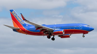 A picture of N298WN - Boeing 7377H4 - Southwest Airlines - © Evan Dougherty