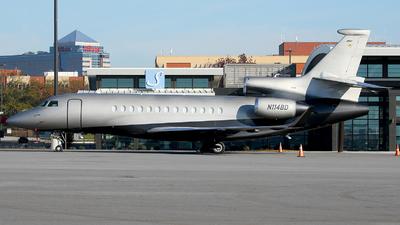 N114BD - Dassault Falcon 7X - Private