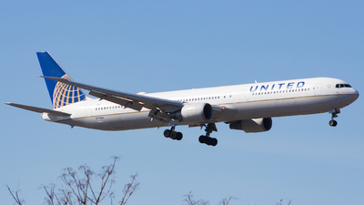 A picture of N77066 - Boeing 767424(ER) - United Airlines - © Xiamen Air 849