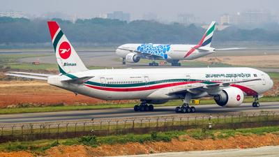 A picture of S2AFO - Boeing 7773E9(ER) - Biman Bangladesh Airlines - © Ashiqur Rahman
