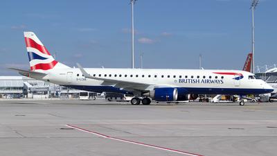 G-LCAA - Embraer 190-100SR - BA CityFlyer