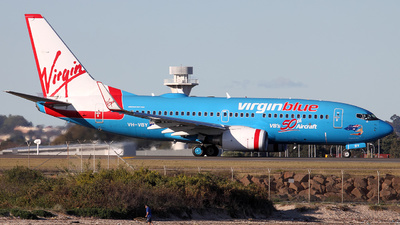 VH-VBY - Boeing 737-7FE - Virgin Blue Airlines