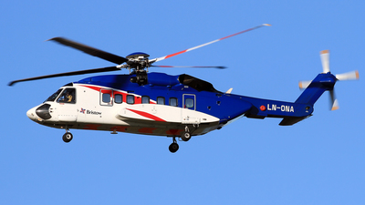 A picture of LNONA - Sikorsky S92A - Bristow Helicopters - © Eddie Heisterkamp