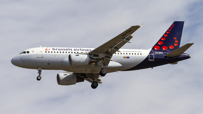 A picture of OOSSH - Airbus A319112 - Brussels Airlines - © AvA
