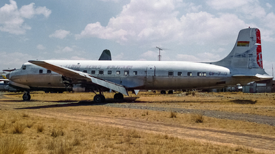 CP-740 - Douglas DC-6B - Bolivia - Air Force