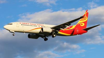 B-7639 - Boeing 737-86N - Hainan Airlines