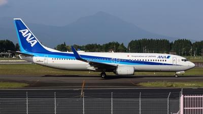 A picture of JA85AN - Boeing 737881 - All Nippon Airways - © Koki.Ishida