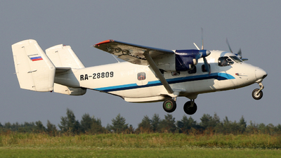 RA-28809 - PZL-Mielec An-28 - Private