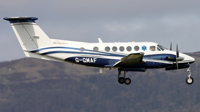 G-GMAF - Beechcraft B200 Super King Air - Gama Aviation
