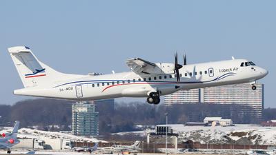 SE-MDB - ATR 72-212A(500) - Lübeck Air (Alsie Express)