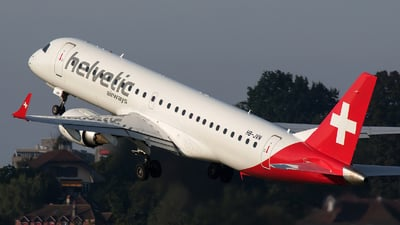 HB-JVN - Embraer 190-100LR - Helvetic Airways