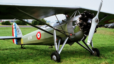 OO-MOR - Morane-Saulnier MS-317 - Private