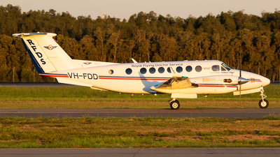 A picture of VHFDD - Beech B300C King Air - [FM69] - © James Saunders
