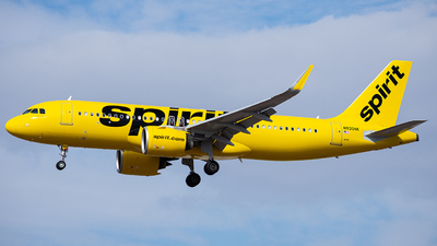 A picture of N935NK - Airbus A320271N - Spirit Airlines - © Alexander Owen