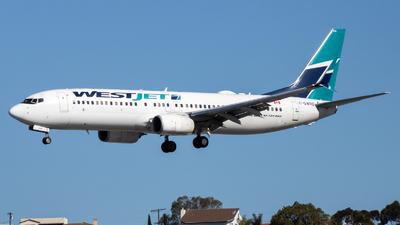 A picture of CGWRG - Boeing 7378CT - WestJet - © Luke Ayers