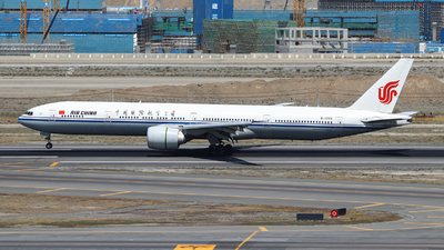A picture of B1266 - Boeing 77739L(ER) - Air China - © BillyLIAO