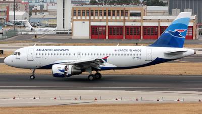 OY-RCG - Airbus A319-115 - Atlantic Airways