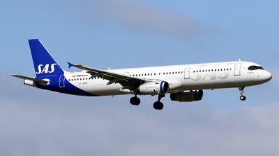 A picture of OYKBH - Airbus A321232 - SAS - © Javier Rodriguez - Amics de Son Sant Joan