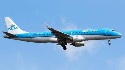 A picture of PHEZB - Embraer E190STD - KLM - © Teemu Pesonen